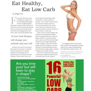 Buchempfehlung für Low Carb Rezepte