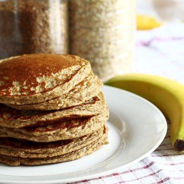 Pancakes mit Proteinpulver von Inko