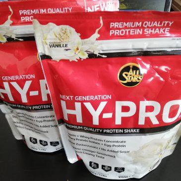 HY PRO Proteinpulver und Eiweiss Testbericht