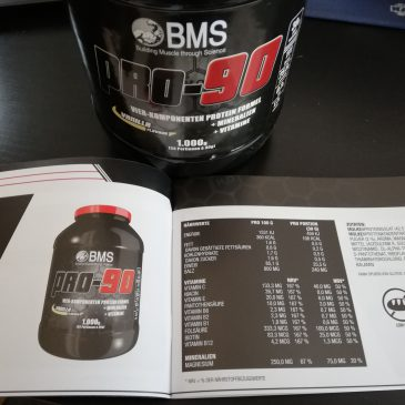 Pro 90 Protein Testbericht von BMS